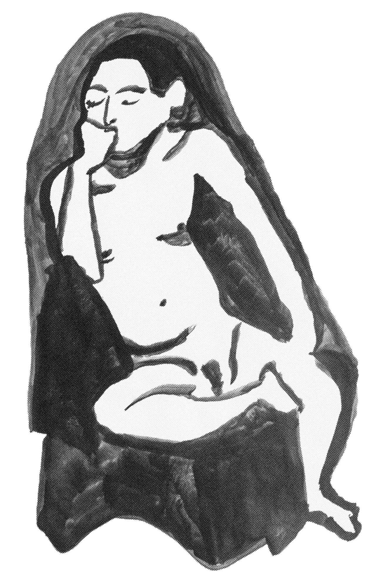 aline petrò malerei und zeichnungen